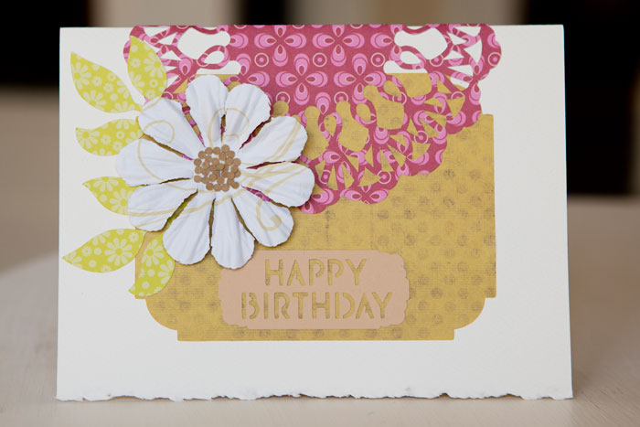 First Birthday Card With Cricut Hiromi S Gallery 手作りアート
