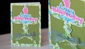 handmade birthday card