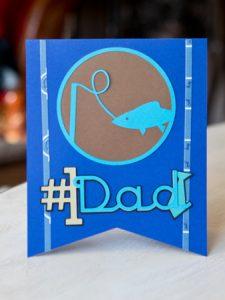 handmade fathers day card