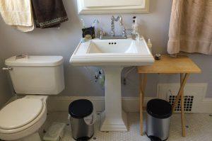 bathroom sink before