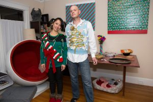 ugly xmas sweater party