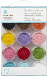 martha stewart flocking powder